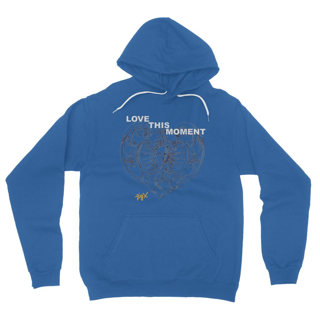 Love This Moment Fleece Pullover Hoodie