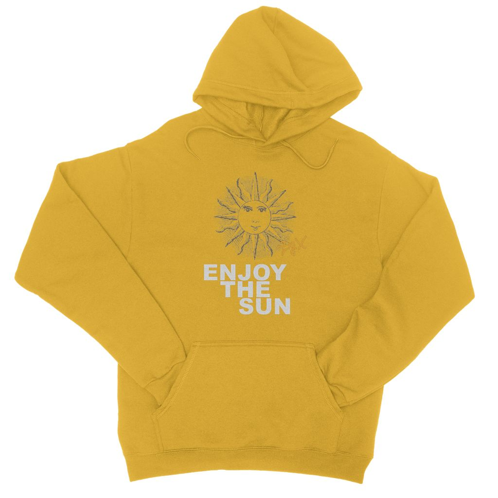 Enjoy The Sun College Hoodie