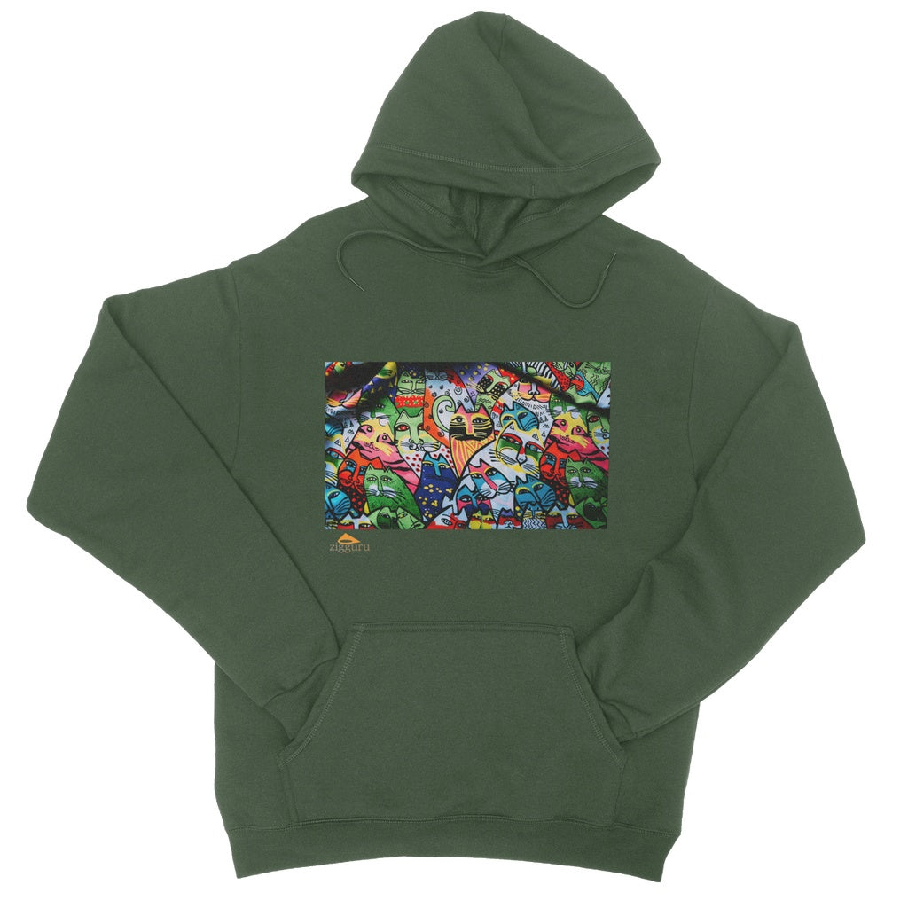 Cats Power College Hoodie