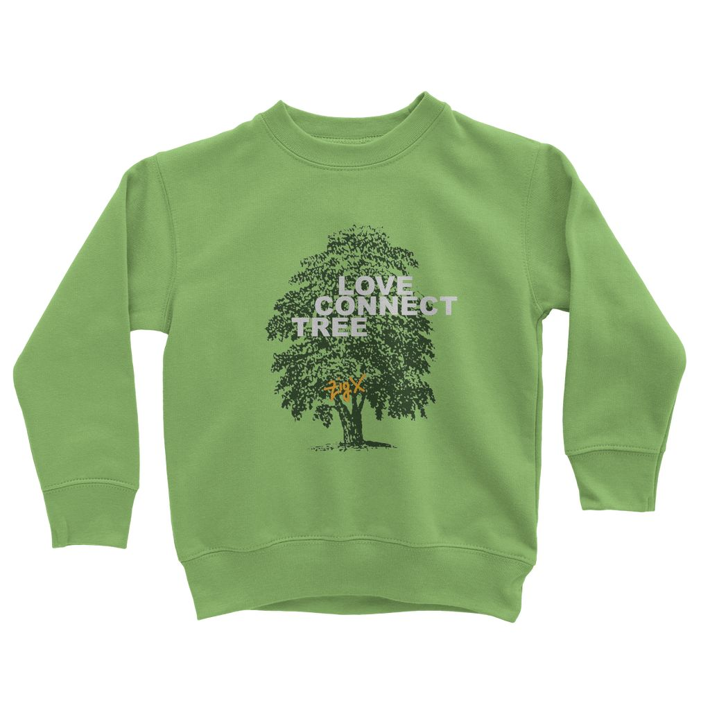 Love Connect Tree Kids Sweatshirt