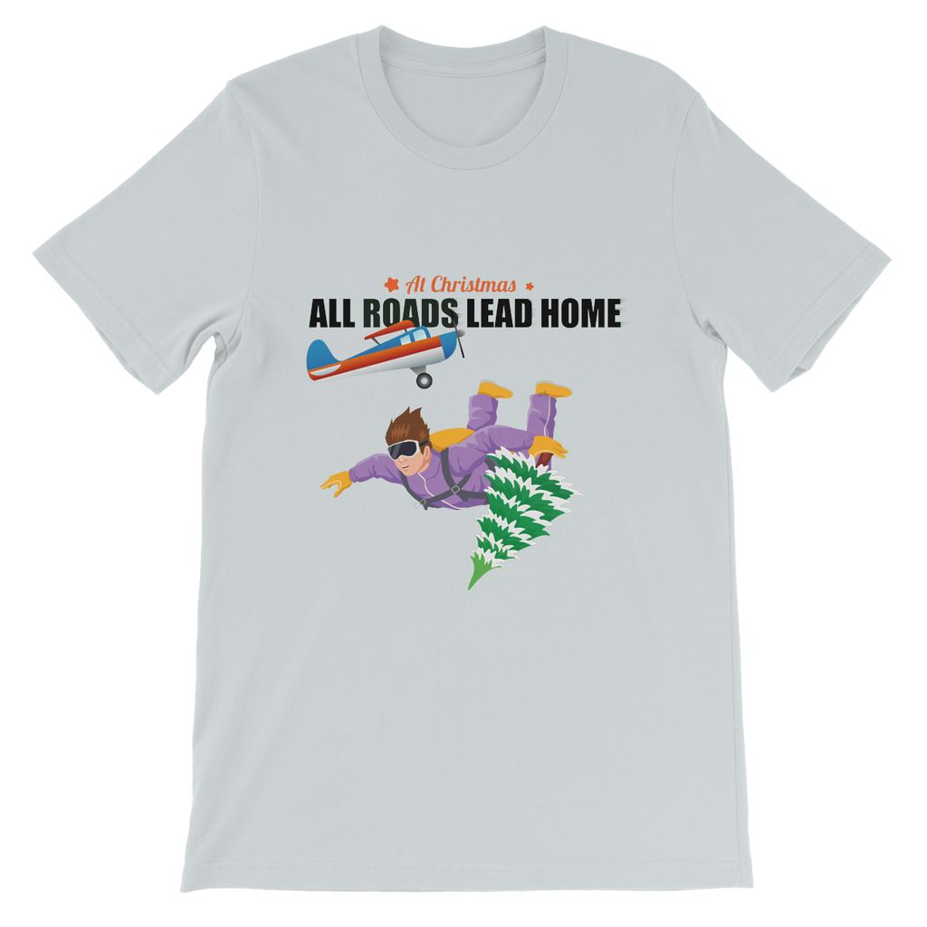 Xmas Skydiver Kids T-Shirt