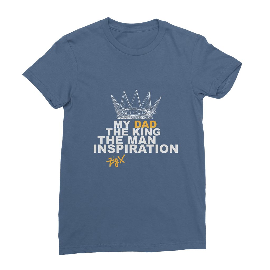 Dad The King Womens T-Shirt