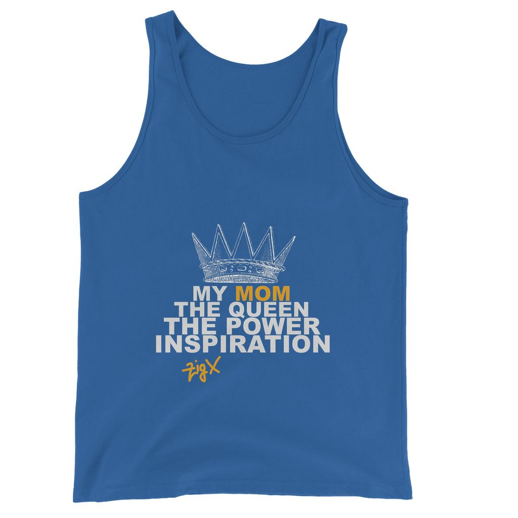 Mom The Queen Jersey Tank Top