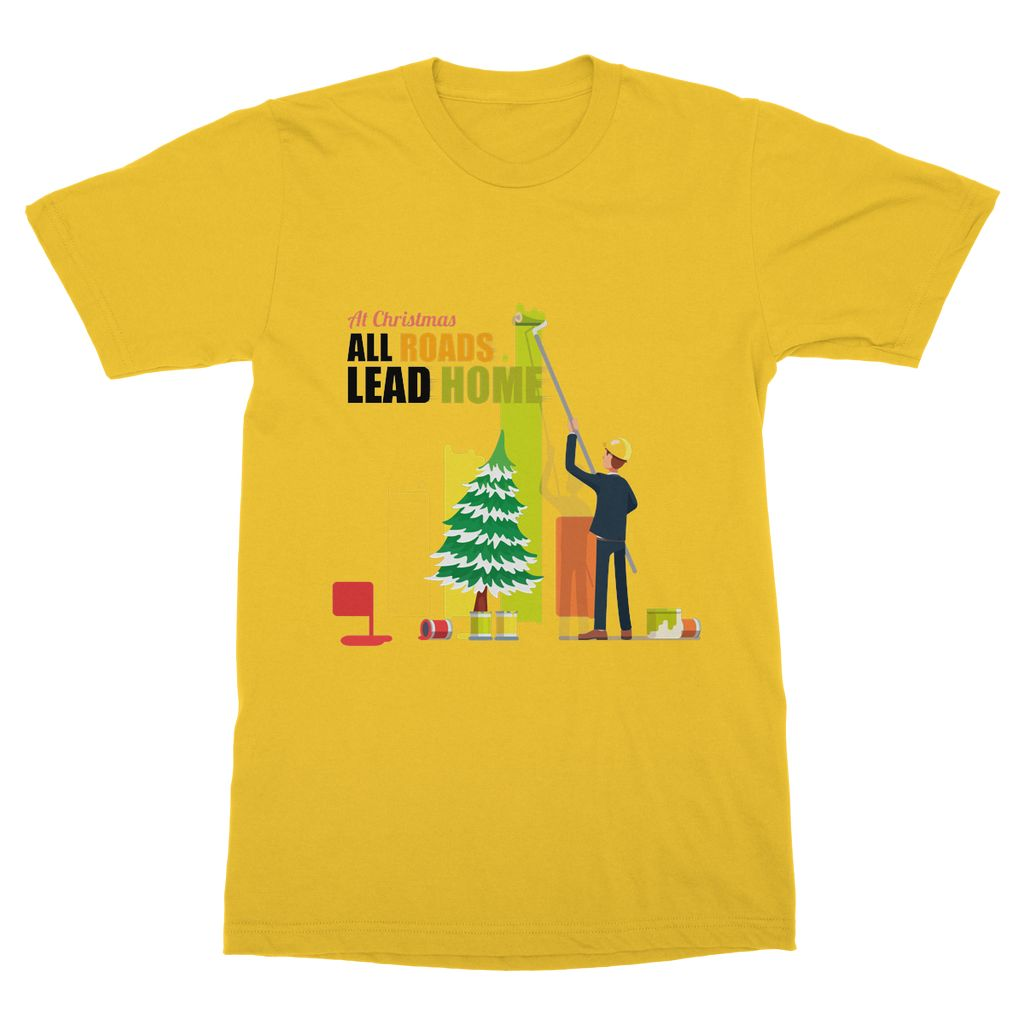 Xmas Wall Painter T-Shirt