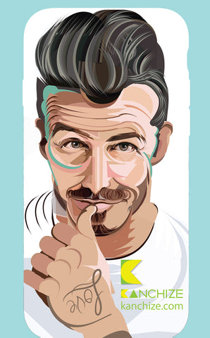 Mobile phone cover - David Beckham