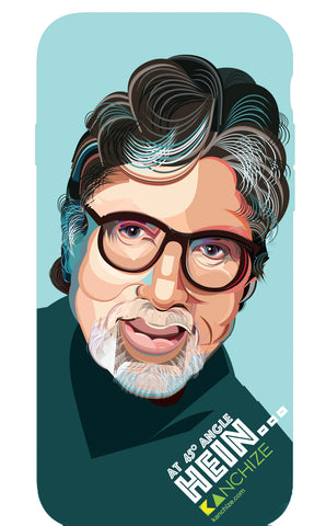 Mobile phone cover - Amitabh Bachchan