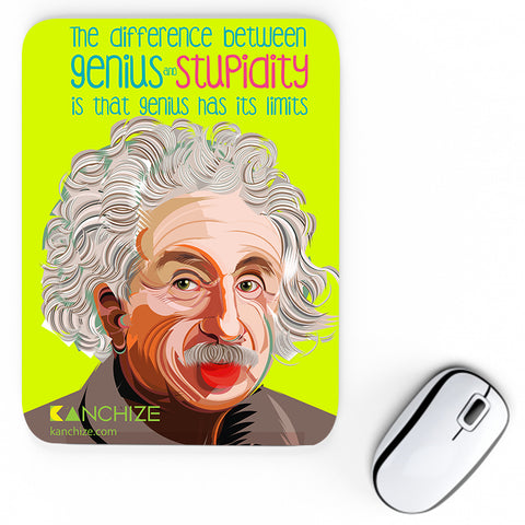 Mouse pad - Albert Einstein