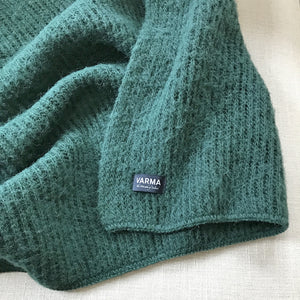 dark green varma wool blanket