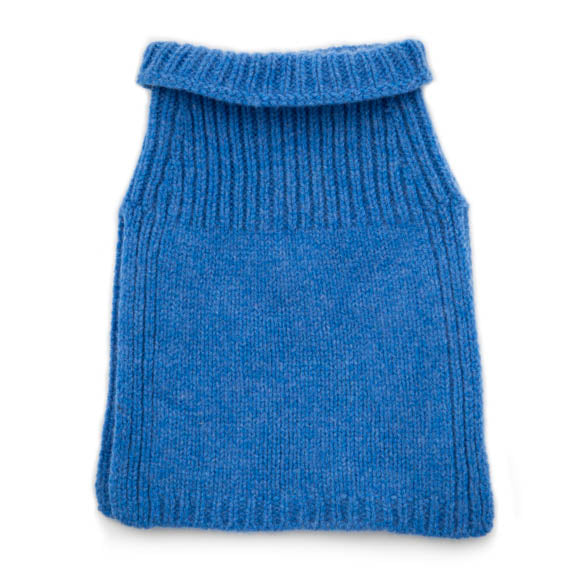 blue toddler snood scarf varma