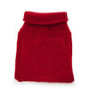 Pure new wool children´s collar red VARMA wool