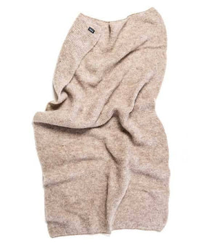 Beige wool blanket