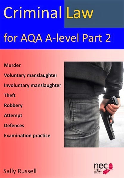 AQA Criminal Law Part 2 (A level Law)
