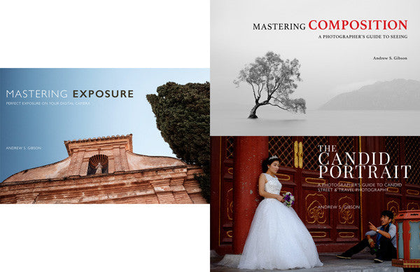Mastering Exposure, Mastering Composition and The Candid Portrait ebook bundle
