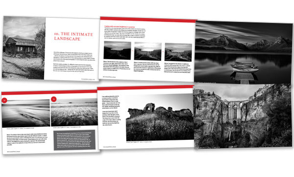 The Black & White Landscape photography ebook