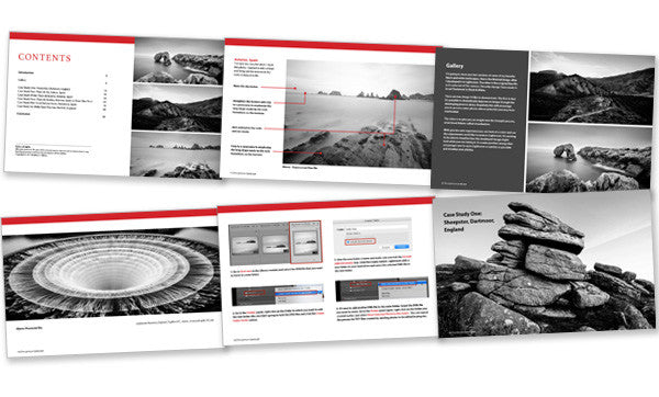 The Lightroom Landscape ebook inside pages