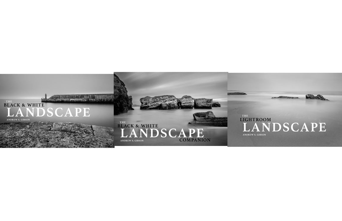 The Complete Black & White Landscape photography ebook bundle
