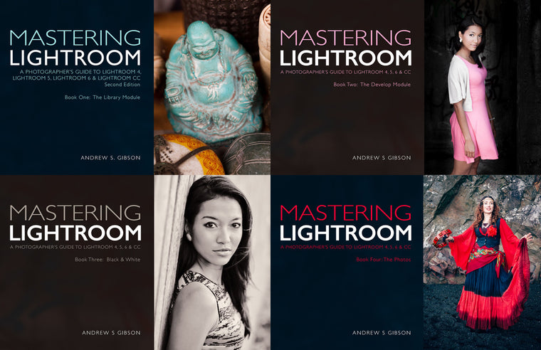 Mastering Lightroom four ebook bundle
