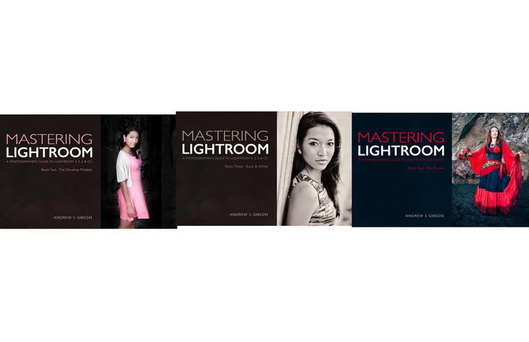 Mastering Lightroom post-production ebook bundle
