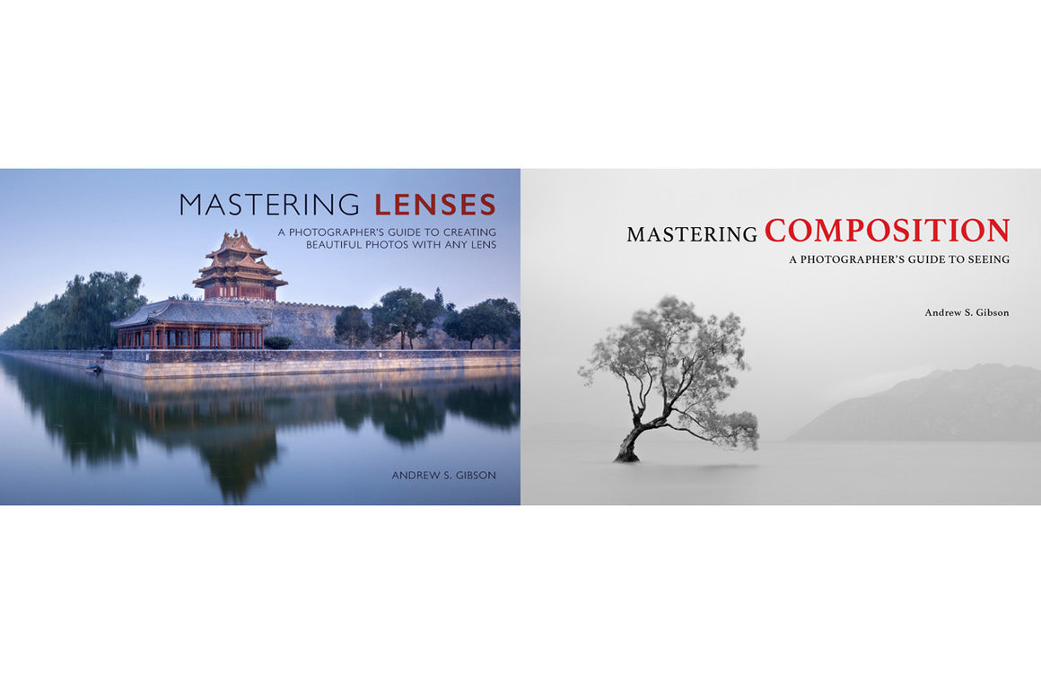 Mastering Lenses & Mastering Composition photography ebook bundle