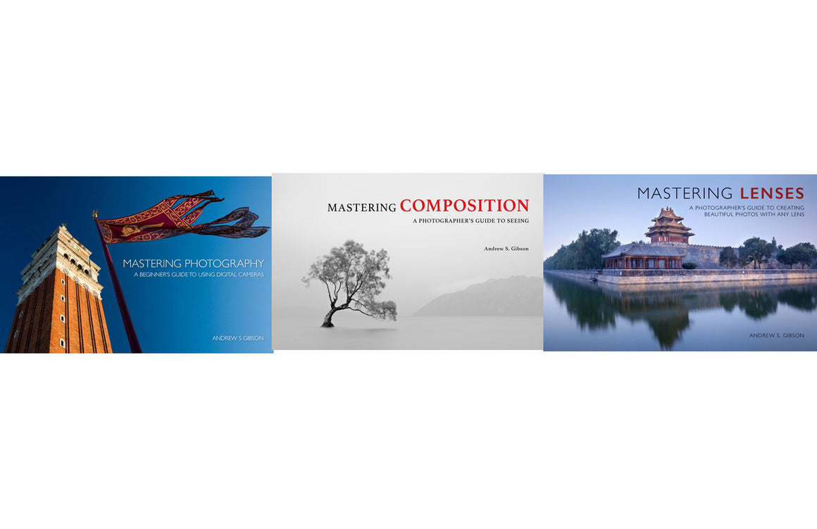 Mastering Photography, Mastering Lenses & Mastering Composition ebook bundle