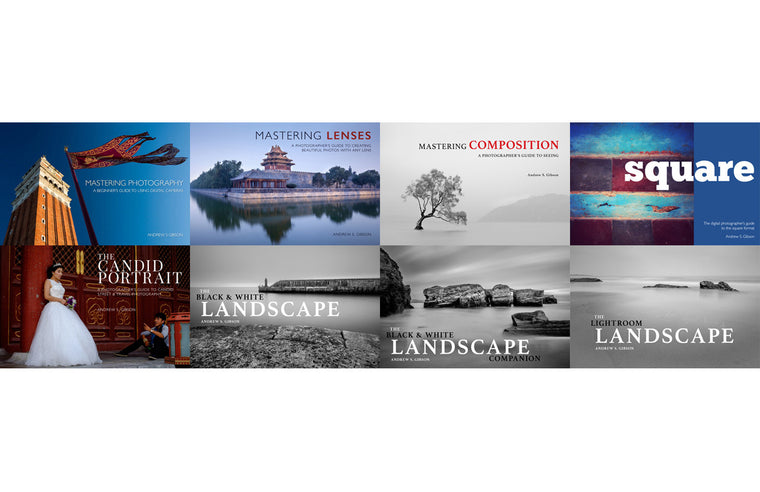 The Mastering Photography ebook bundle