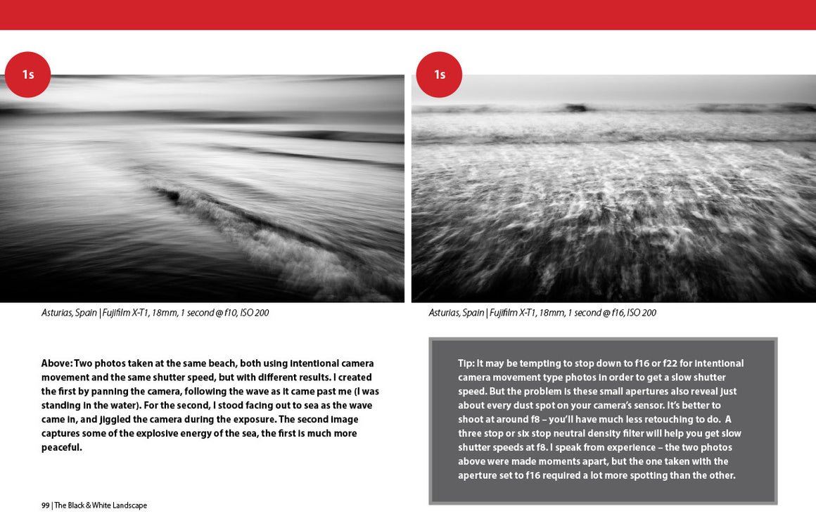 The Black & White Landscape ebook inside page