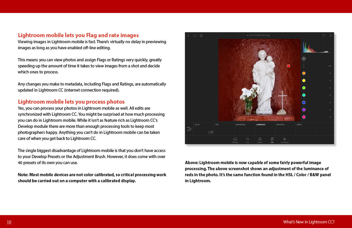 What's New in Lightroom CC? free photography ebook