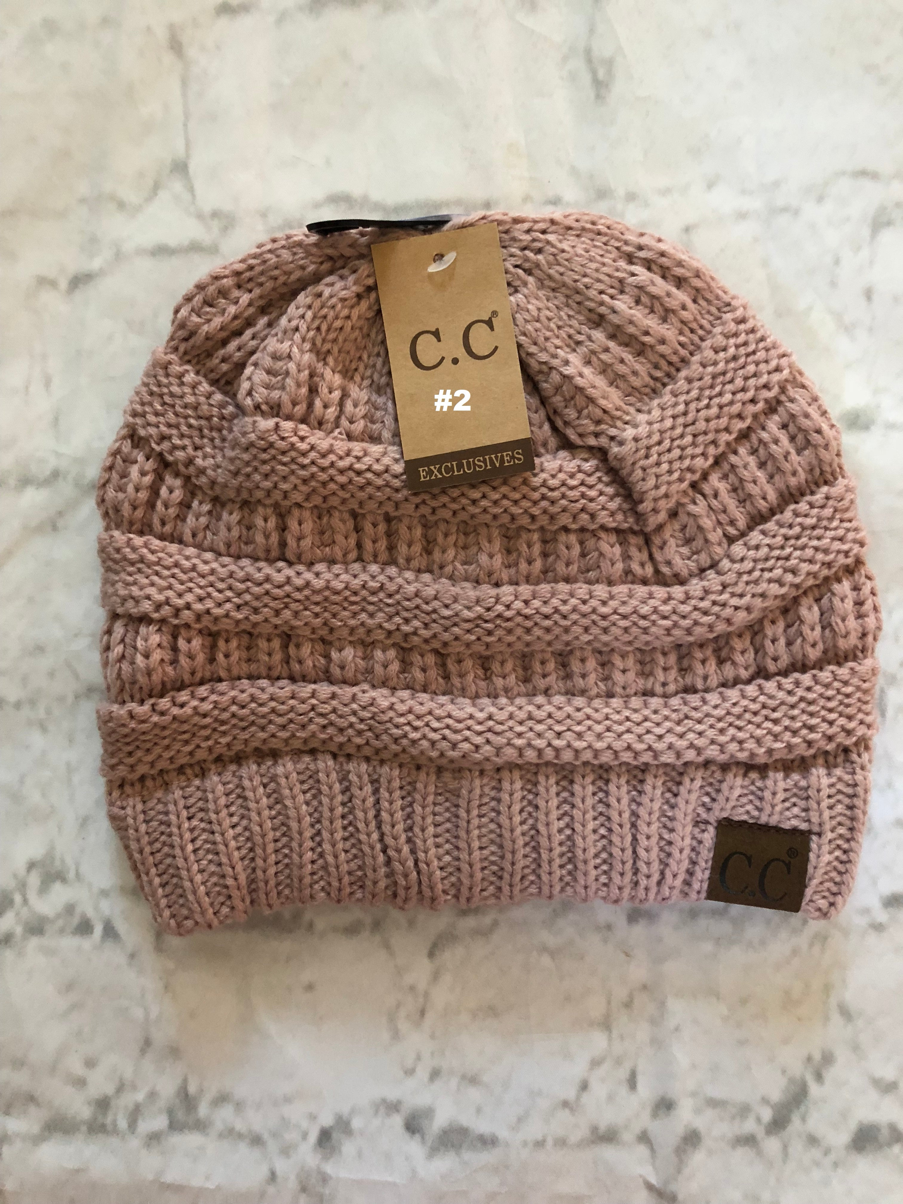 CC Brand Beanies - Pink Family