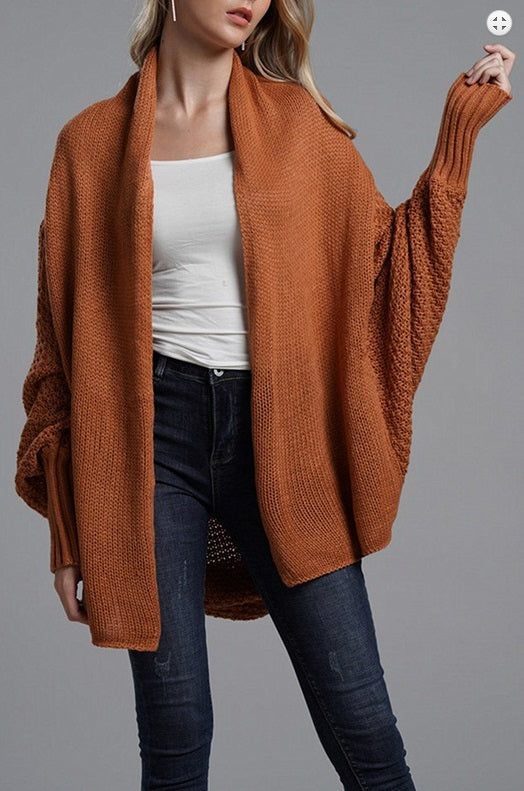 Crochet Sleeve Duster