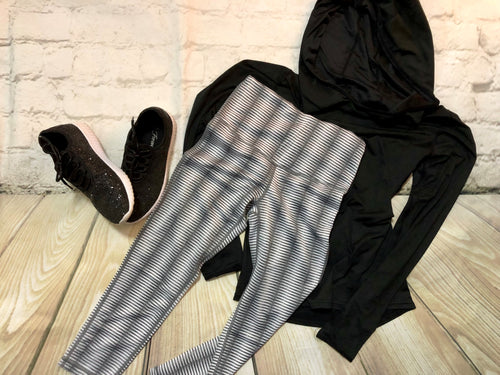 Grey Workout Capris