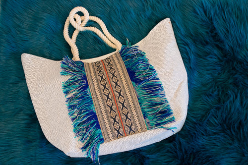 Blue Summer Tote