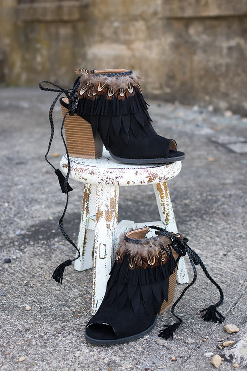 Feather Bootie