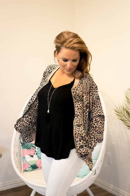 Leopard Light Jacket