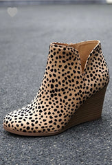 Wild Wedge Bootie