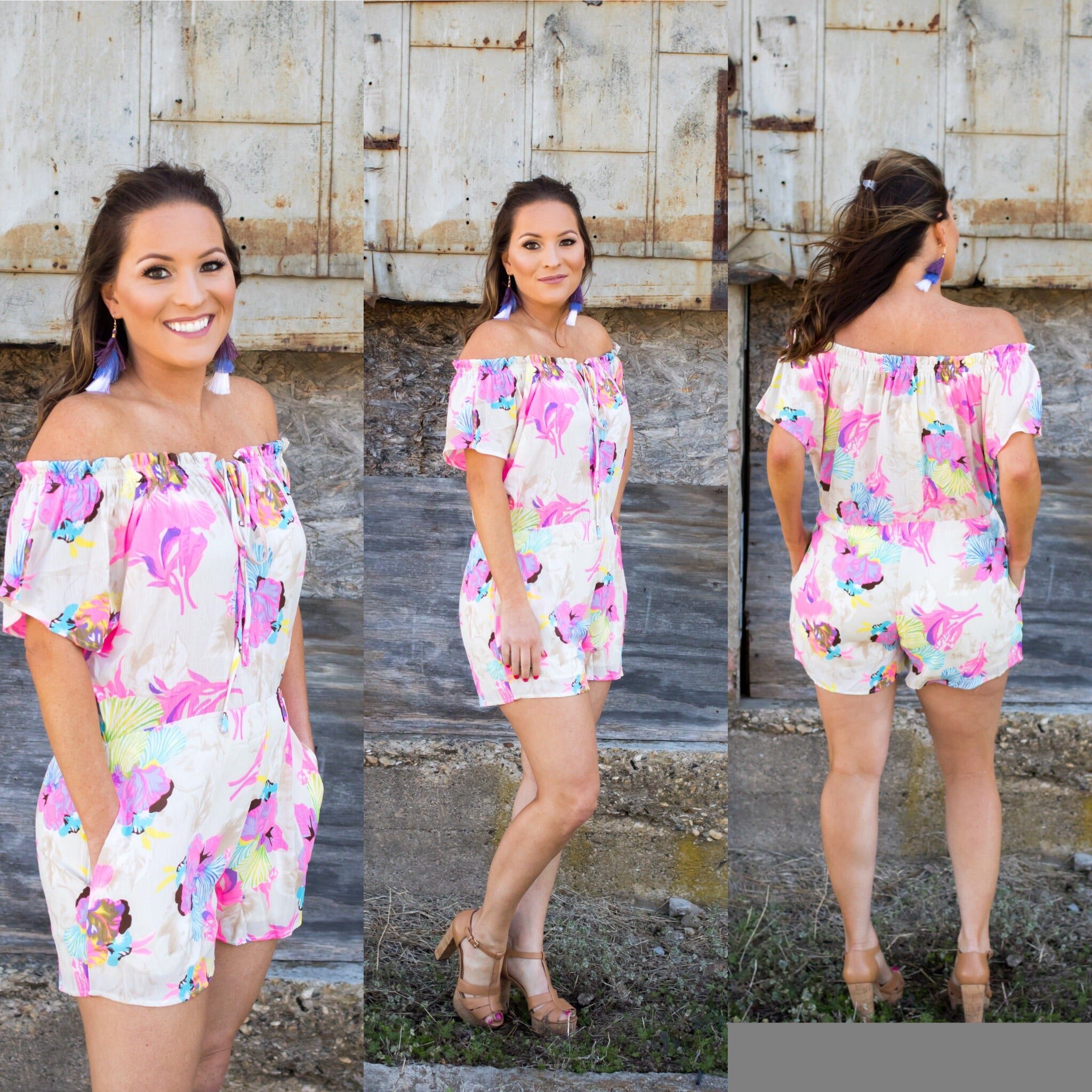 Sweet Flowers Romper