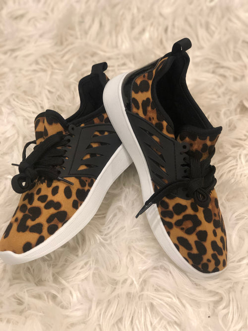 Leopard Athletic Tennies