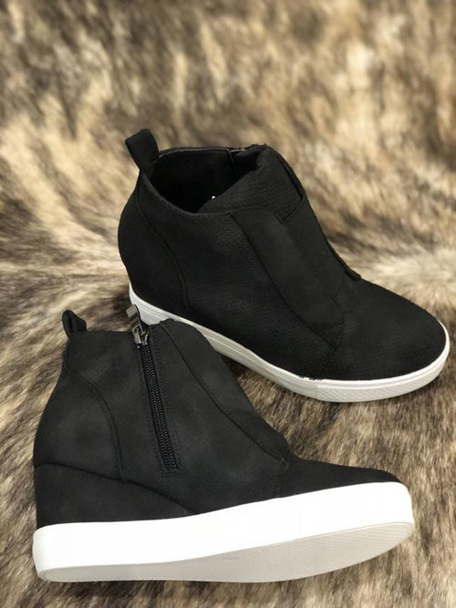 Kickin It Wedge Sneaker