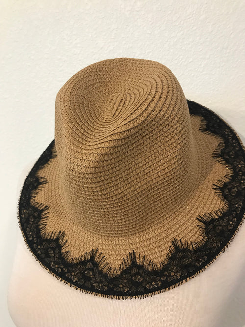 Lace Beach Hat