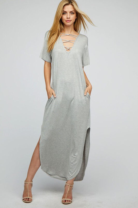 Cage Maxi Dress