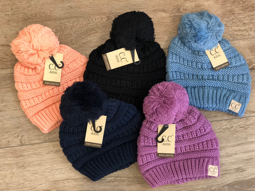 CC Kids' Beanie With Pom 18/19 release