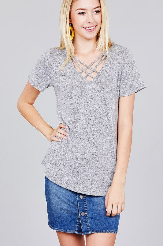 Criss Cross Top
