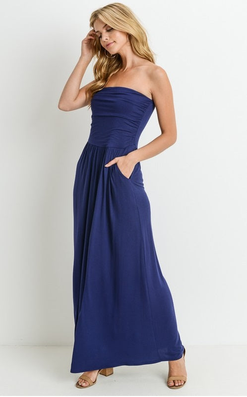 Solid Maxi With Pockets