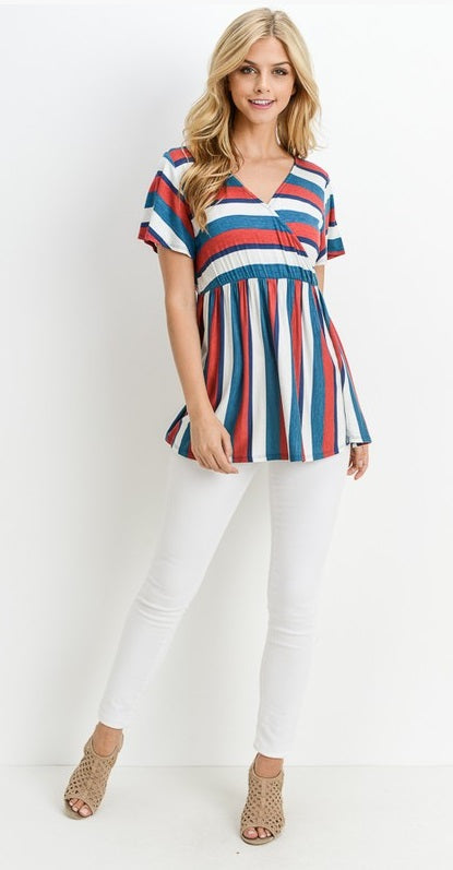Fun Stripe Top