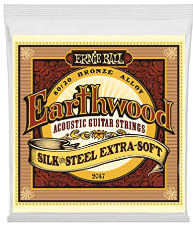 Ernie Ball Earthwood Silk & Steel Extra Soft Acoustic Guitar Strings