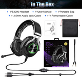 EKSA 3000 Cross-Platform Wired Gaming Headset w/ Noise Cancelling Mic - American Music