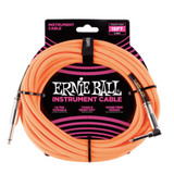 Ernie Ball Braided Straight/Angle Instrument Cable - 18' - American Music