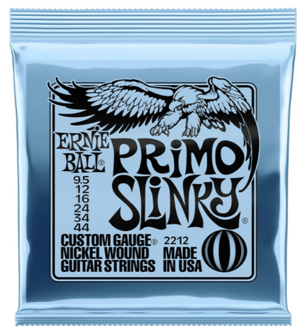 Ernie Ball Primo Slinky Electric Guitar Strings - American Music