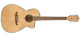 Fender FA-345CE Auditorium Bodied A/E Guitar - Natural - American Music