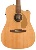 Fender Redondo Player Acoustic-Electric Guitar in Natural