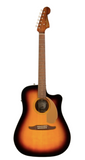 Fender Redondo Player Acoustic-Electric Guitar in Sunburst
